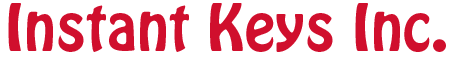 Instant Keys Inc. Footer Logo